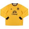 2011-12 Everton Away Shirt Gibson #4 L/S XL