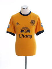 2011-12 Everton Away Shirt M