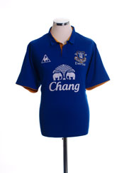 2011-12 Everton Home Shirt L