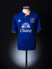 2011-12 Everton Home Shirt S