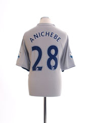2011-12 Everton Third Shirt Anichebe #28 *Mint* XL