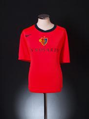 2011-12 FC Basel Home Shirt XXL