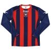 2011-12 FC Crotone Home Shirt Pettinari #9 L/S L