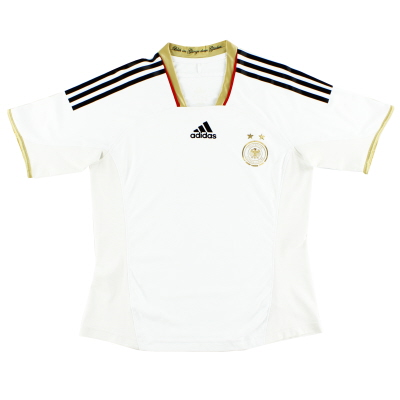 2011-12 Germany adidas Womens Player Issue Home Shirt S