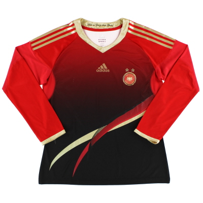 2011-12 Germany Women's Player Issue Away Shirt L/S L