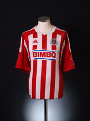 2011-12 Guadalajara Home Shirt *Mint* XL