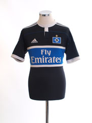 2011-12 Hamburg Away Shirt *Mint* S