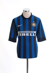 2011-12 Inter Milan Home Shirt L