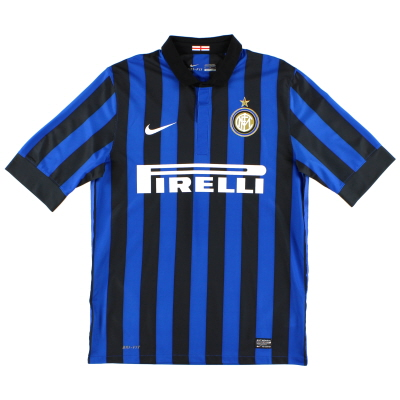 2011-12 Inter Milan Home Shirt L.Boys