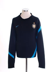2011-12 Inter Milan Player Issue Midlayer Training Top XL