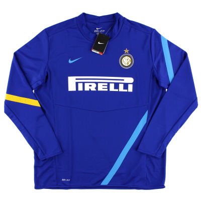 2011-12 Inter Milan Player Issue Training Top *BNWT* XL