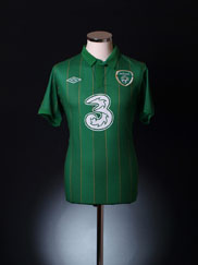 2011-12 Ireland Home Shirt M
