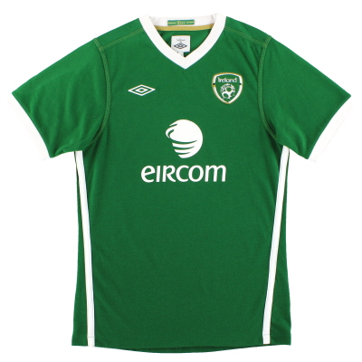 2011-12 Ireland Umbro Home Shirt Y
