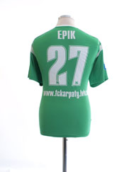 2011-12 Karpaty Lviv Match Issue Away Shirt Ерік #27 M