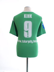 2011-12 Karpaty Lviv Match Issue Away Shirt Кінк #9 M