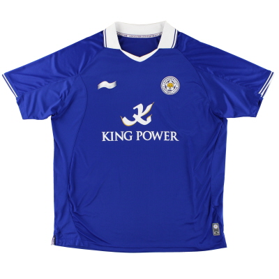 2011-12 Leicester Home Shirt XXL