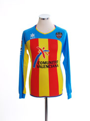 2011-12 Levante Third Shirt L/S S