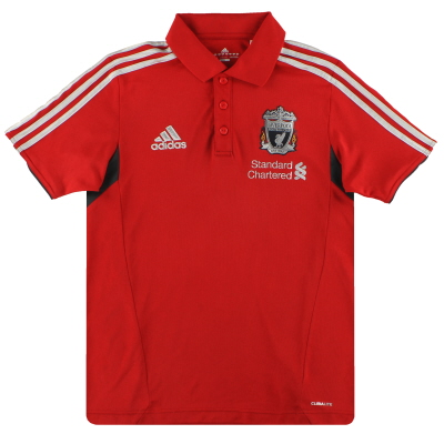 2011-12 Liverpool adidas Polo Shirt *Mint* S