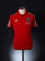 2011-12 Liverpool adidas Polo Shirt S