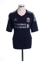 2011-12 Liverpool Away Shirt M
