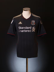 2011-12 Liverpool Away Shirt S