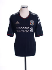 2011-12 Liverpool Away Shirt *Mint* XL