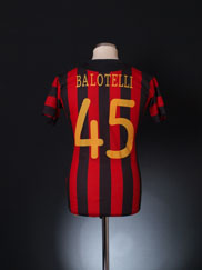 2011-12 Manchester City CL Away Shirt Balotelli #45 *BNWT* 12