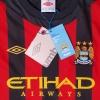 2011-12 Manchester City CL Away Shirt Balotelli #45 *BNWT* 12