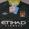 2011-12 Manchester City Goalkeeper Shirt *BNWT* L/S M