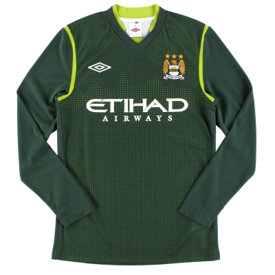 2011-12 Manchester City Goalkeeper Shirt *BNWT* L/S S