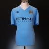 2011-12 Manchester City Home Shirt Kun Aguero #16 XL