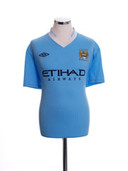 2011-12 Manchester City Home Shirt L