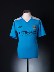 2011-12 Manchester City Umbro Training Top M