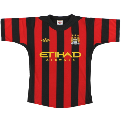 2011-12 Manchester City Umbro Away Shirt S