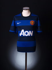 2011-12 Manchester United Away Shirt S