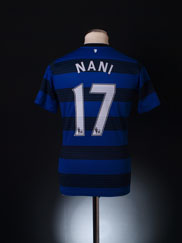 2011-12 Manchester United Away Shirt Nani #17 XL