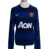 2011-12 Manchester United Away Shirt Nani #17 L/S L