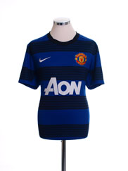 2011-12 Manchester United Away Shirt Womens M