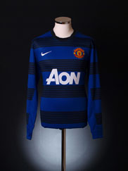 2011-12 Manchester United Away Shirt L/S L