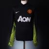 2011-12 Manchester United GK Shirt Lindegaard #34 S