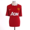 2011-12 Manchester United Home Shirt Womens M