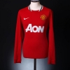 2011-12 Manchester United Home Shirt Cleverley #23 L/S L