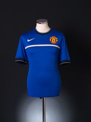 2011-12 Manchester United Nike Pre-Match Training Shirt M