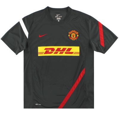 2011-12 Manchester United Nike Training Shirt *Mint* L