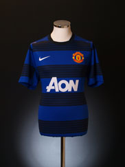 2011-12 Manchester United European Player Issue Away Shirt *BNWT*