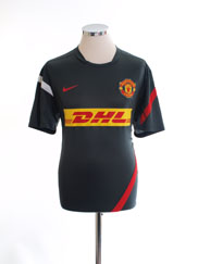 2011-12 Manchester United Training Shirt *Mint* L