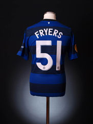 2011-12 Manchester United Match Issue Away Shirt Fryers #51 (vs. Ajax)