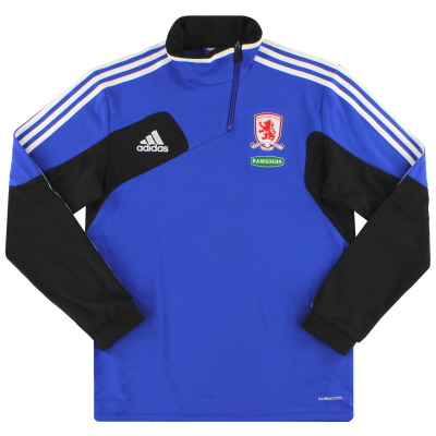 2011-12 Middlesbrough adidas 1/2 Zip Training Jacket M