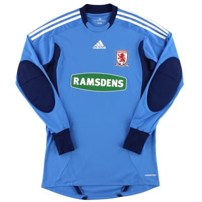 2011-12 Middlesbrough adidas Player Issue Goalkeeper Shirt L/S S