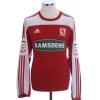 2011-12 Middlesbrough Home Shirt Juninho #10 L/S L